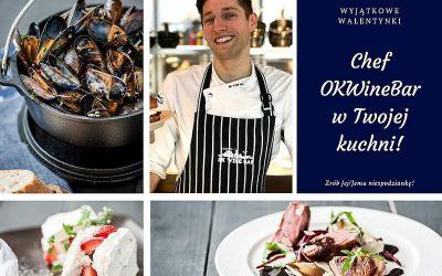 Walentynki 2021 – nasz Chef w Twojej Kuchni